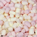 Astra Sweets - 52109 1kg Pink and White Micro Marshmallows (Contains E162) - £5.27/kg