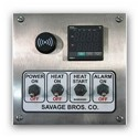 Savage - #20 DIGITAL CONTROL ON STAND-230V - Gas Cooker w/Temp Control