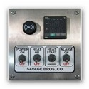 Savage - #20 DIGITAL CONTROL/WALL MOUNT-230V - Gas Cooker w/Temp Control