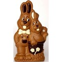 Hans Brunner Spinning Mould - SE-0524-L - Rabbit with Rabbitboy - Size: 135mm - 8 cavities - Easter